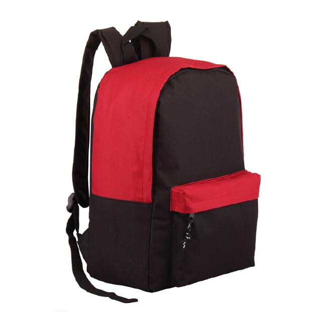 2016新款 简约时尚大小口袋书包  旅游包双肩运动背包中学生书包