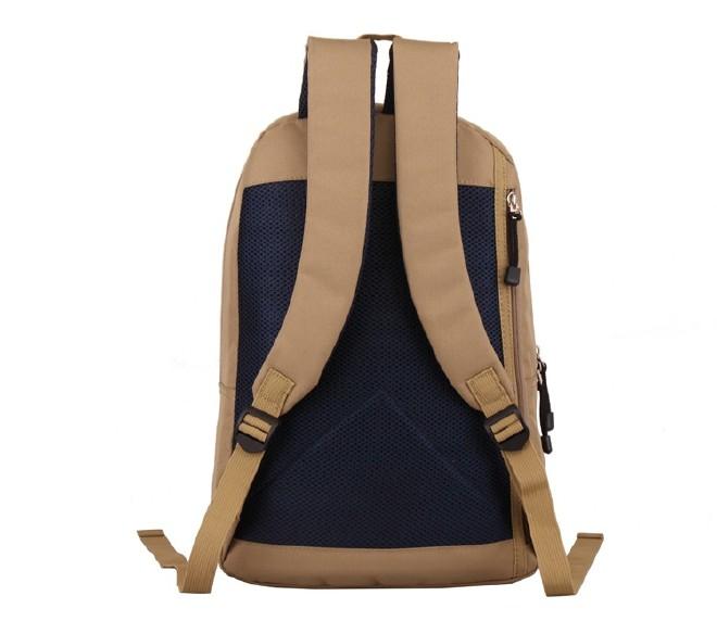 2016新款简约纯色双口袋背包 时尚休闲款运动包学生书包直销示例图28