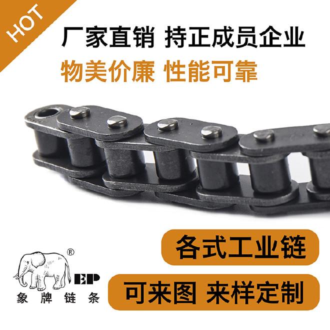 象牌,工业链条,标准链,传动链,输送链,空心销轴链 可来图定制,标准链可定制长度