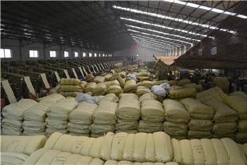 黄色编织袋厂特价80斤粮食袋普黄色蛇皮袋中厚结实塑料编织袋批发示例图29