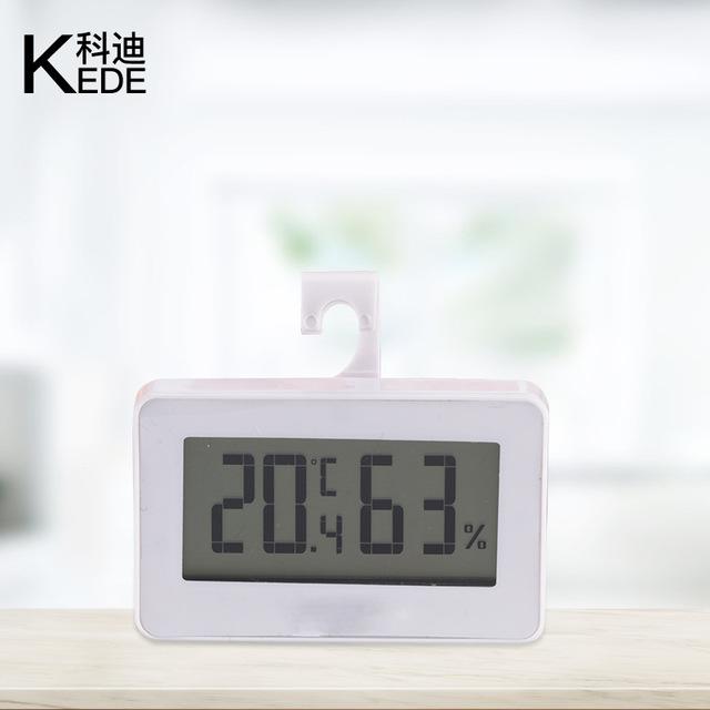 家用夜光高精度數字電子溫度計 室內大屏幕冰箱數字電子溫濕度計