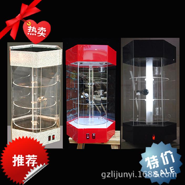 新款传媒广告展览器材数码手机旋转可定制有机玻璃亚克力展示架图片