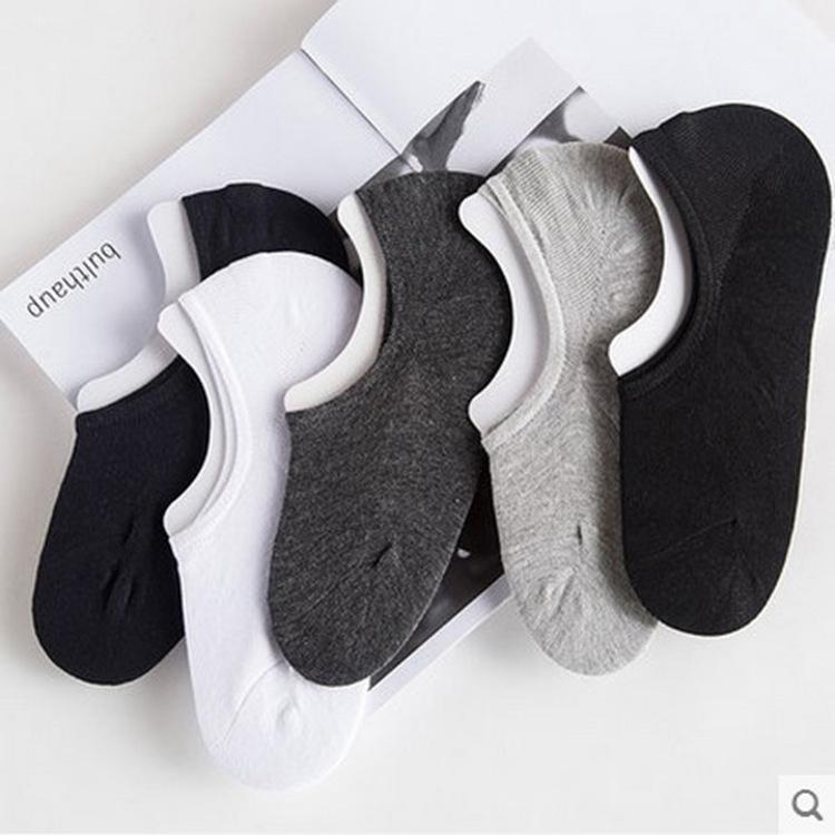 袜子男短袜船袜男男士纯棉隐形袜浅口春季薄款