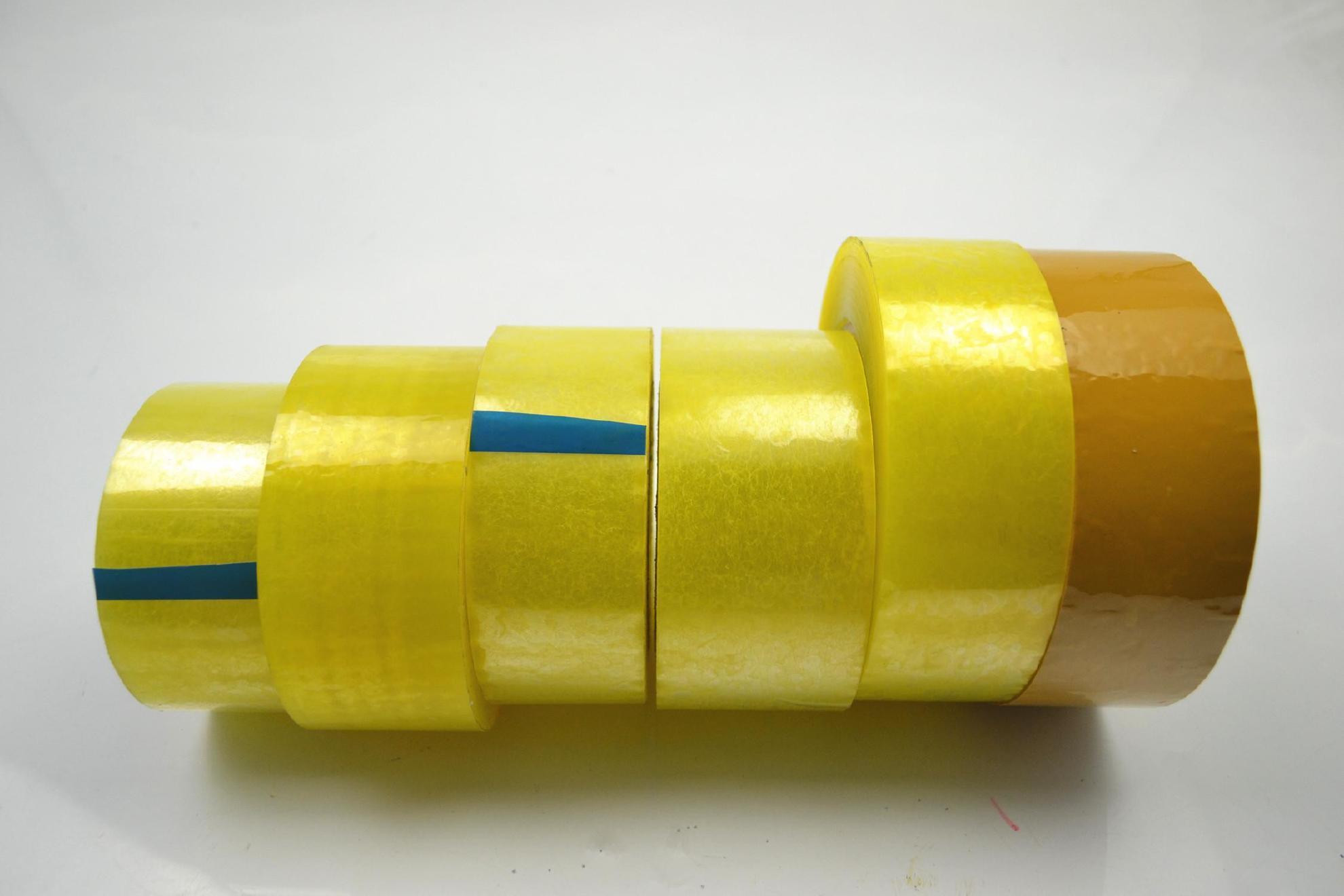 高粘度透明、黄色胶带4cm宽肉厚2.5cm封箱打包胶纸封口胶带批发示例图10