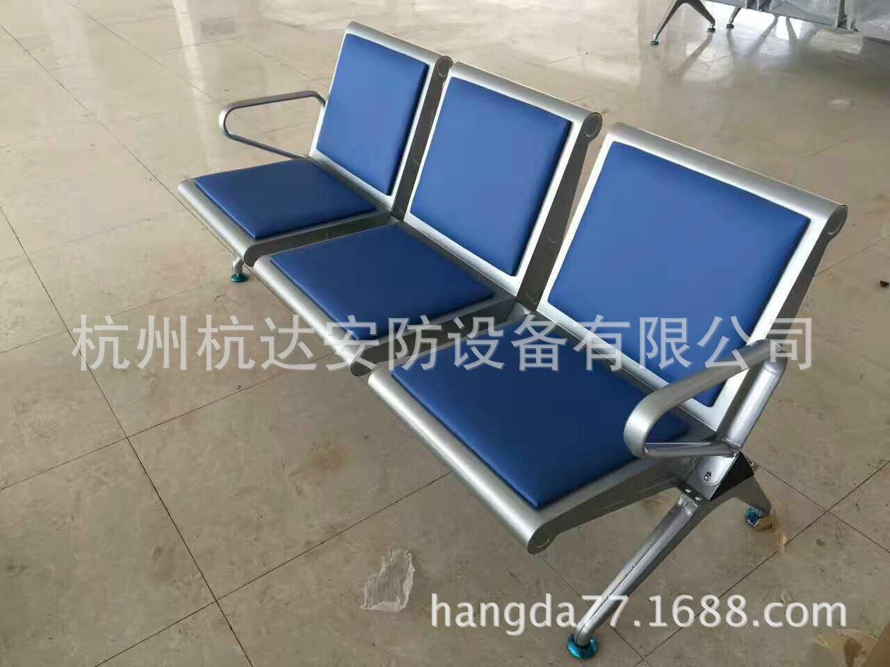 供应杭州优质不锈钢机场连排椅候诊候车区连排椅质保10年示例图2
