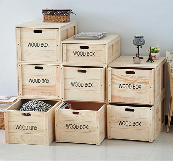 环保收纳柜加厚整理箱 厂家直销实木衣柜来图定做