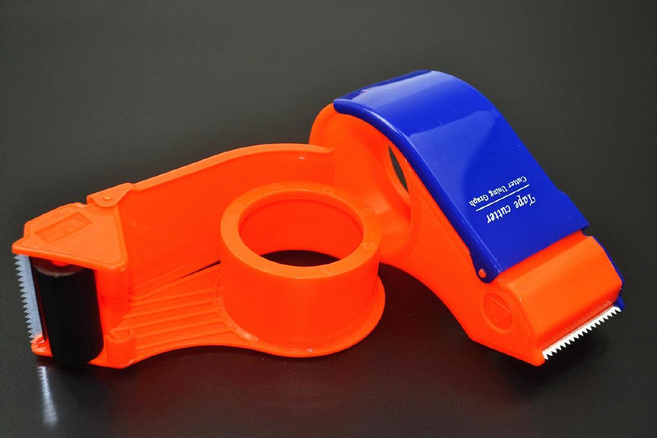 封箱器打包胶带大小号机胶带切割器蓝色封箱带切割面打包器手持示例图12