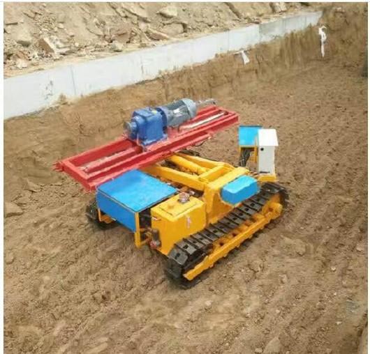 地质钻机  履带水平打孔钻机  岩石电钻  多功能履带钻机