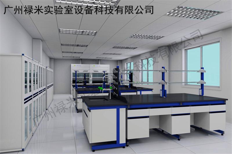 全钢边台- 禄米实验室装修设计 改造规划 实验室家具
