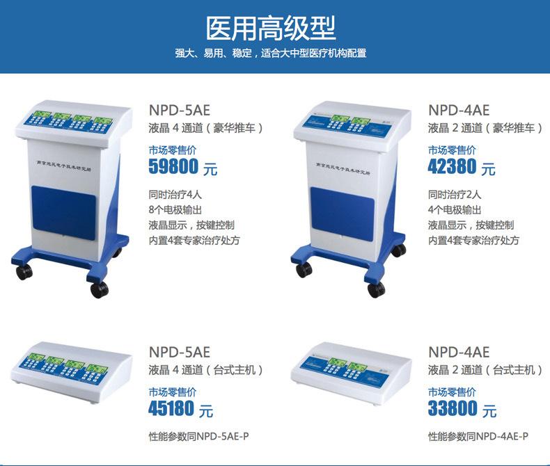 南京炮苑骨質增生儀NPD-5AS 離子導入儀 中醫定向透藥儀示例圖8