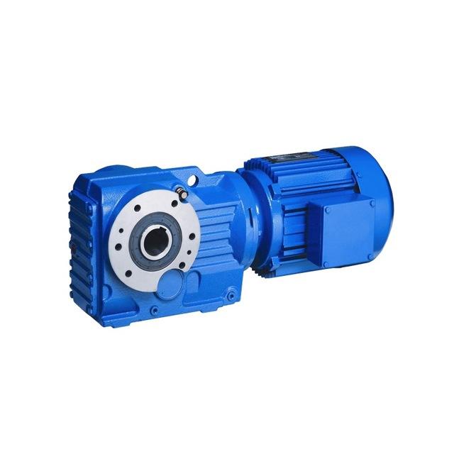 廠家直銷上坤廠家硬齒面齒輪箱KA37-KA187齒輪減速比5.36-197.37扭矩大,噪音小,