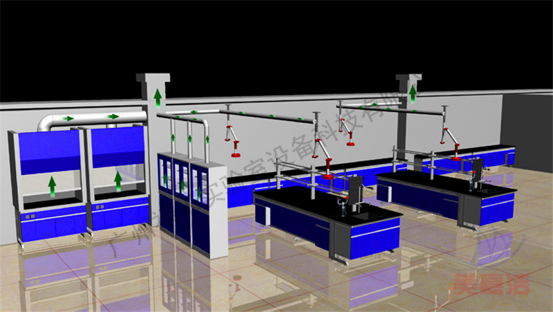 批发 实验室家具 全钢通风柜 实验台 天平台 操作台 测试台