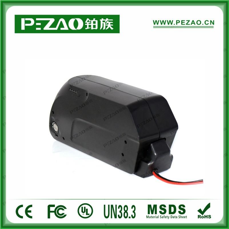 铂族电池 虎鲨款锂自行车电池/锂电车动力电池组/18650锂动力电池组 48V10-17.5Ah电池组示例图3