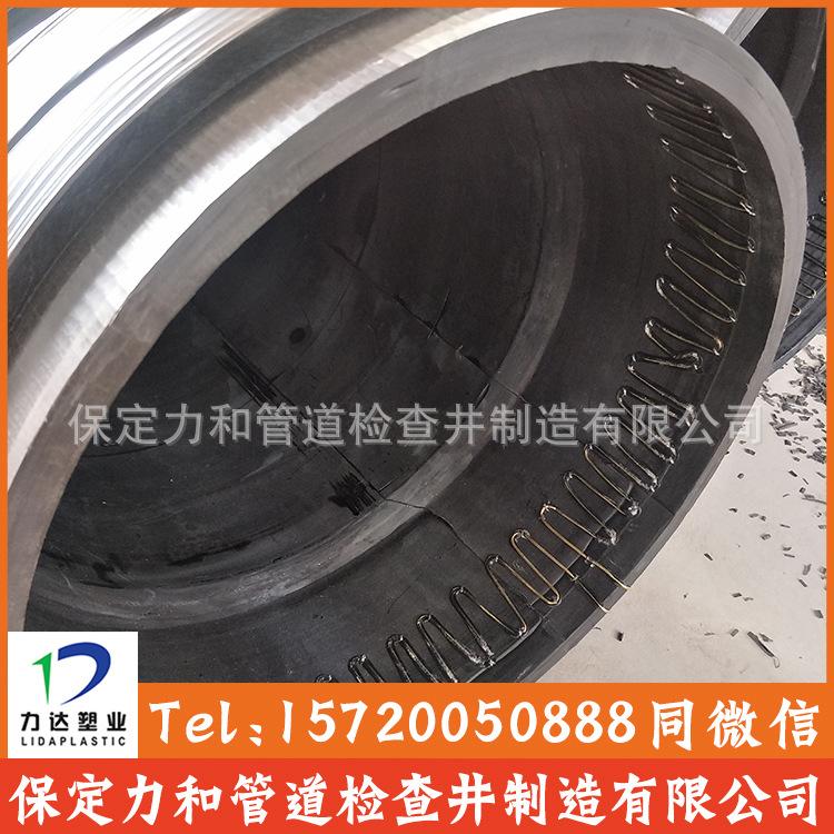保定力和管道专业生产克拉管 聚乙烯缠绕结构壁管B型 100%全新料示例图11