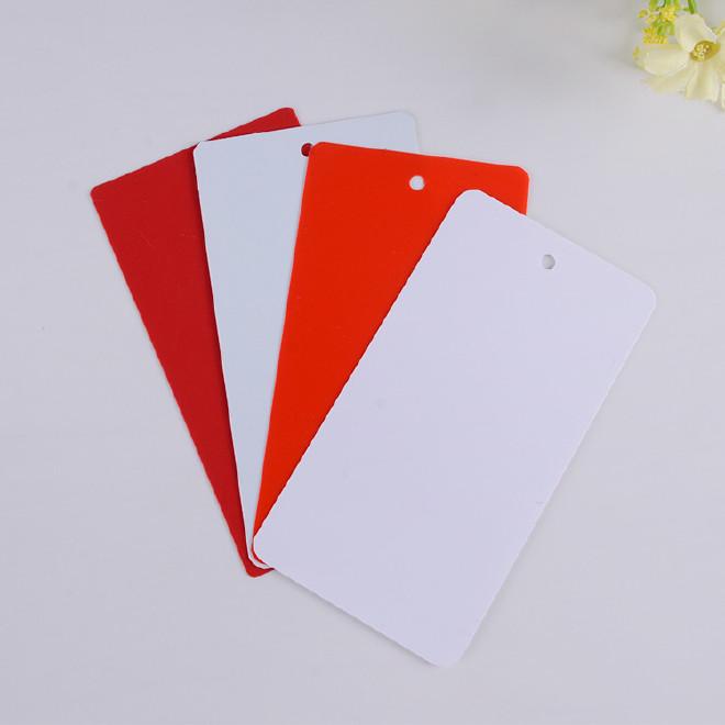 廠家定做中高檔服裝吊牌 商標紙卡定做 創意純色女裝童裝吊卡圖片