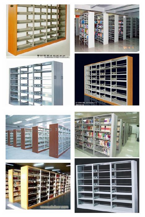 批发图书馆书架 厂家直销书架 批发澳门、厦门、图书馆书架示例图2