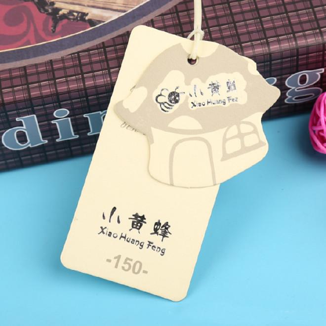 廠家免費設計小吊牌紙類標簽 吊卡服裝飾品吊牌 小標牌通用紙卡圖片