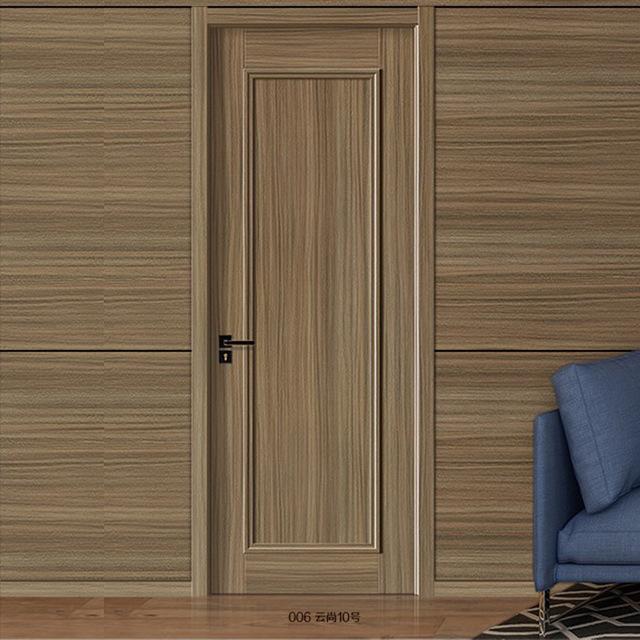 新款家用房間木門定制實木復合室內門扣線系列平開門