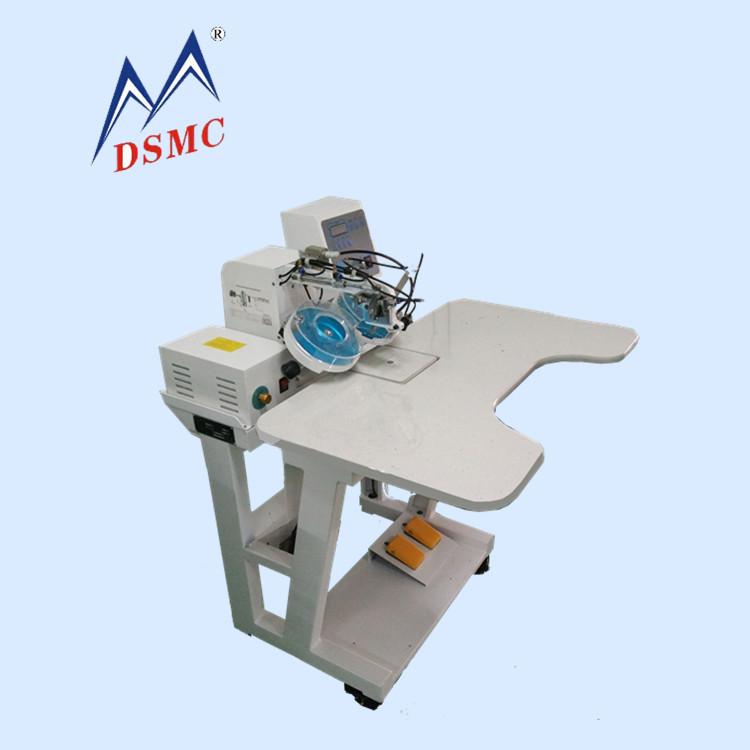 厂家直销超声波半自动点钻机 服装自动订珠机 激光定位点钻机图片