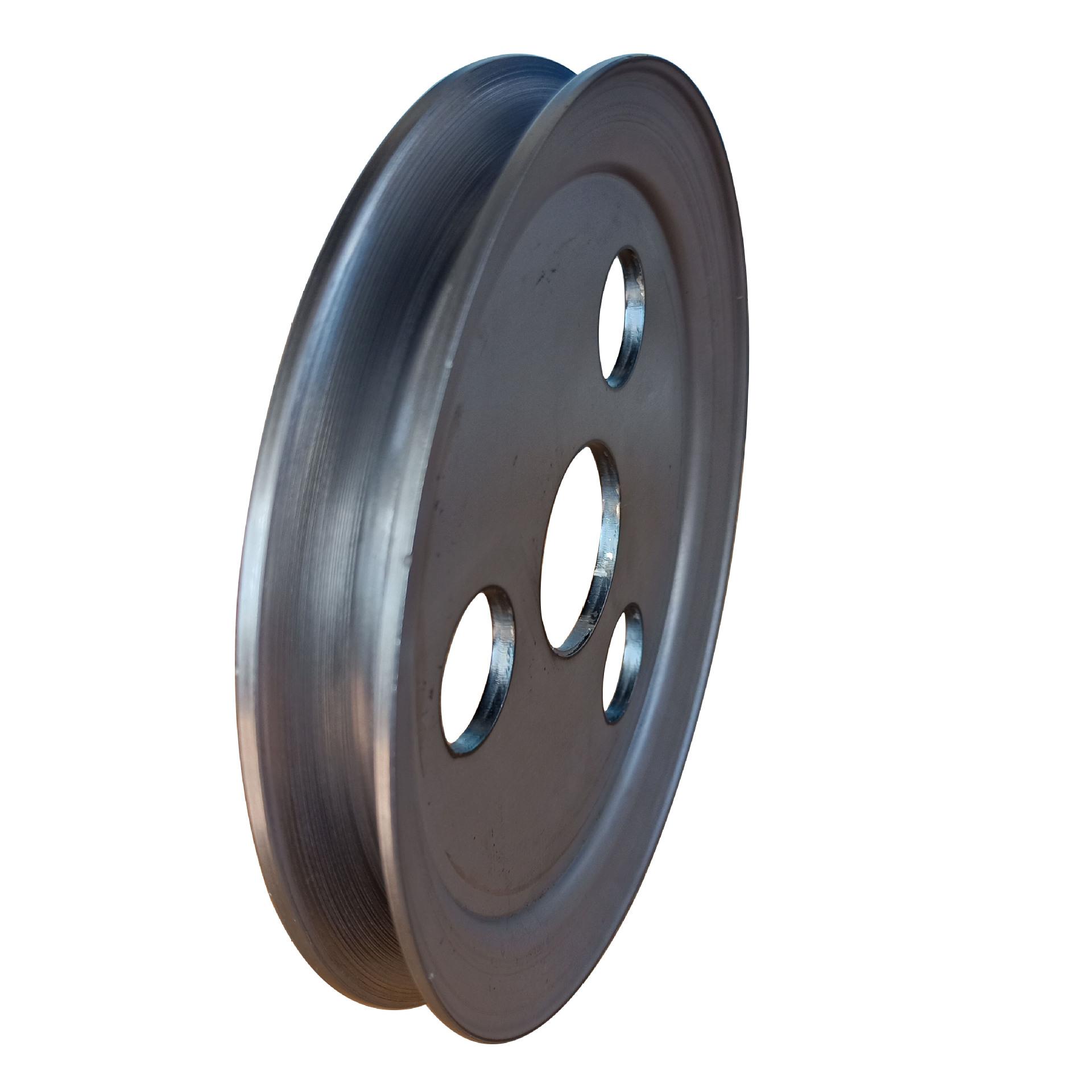 食品机械专用单槽劈开式V型皮带轮尺寸精准外观精致示例图1
