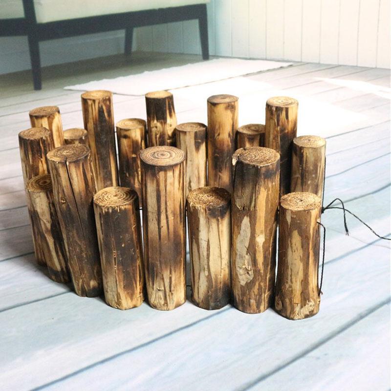 园林木桩,碳化木桩 园艺木桩  实木