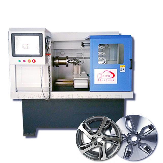 供應施諾依汽車輪轂拉絲機 鋁合金輪轂拉絲修復改裝設備