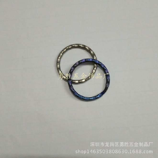 精美鈦合金鑰匙圈  30mm壓花圈 光圈 平面圈 鑰匙環 歡迎批發訂購