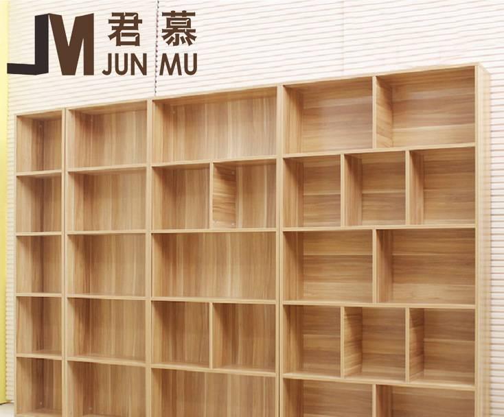 实木家具儿童书柜 储物收纳图书馆书柜自由组合厂家直销简易书柜