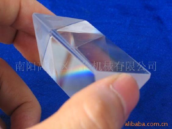 供应批发订做三棱镜光学教具,透镜等或其它来图定制图片