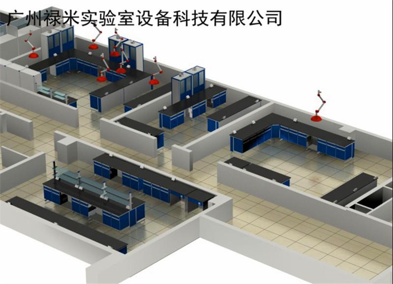 广东怀集 实验室装修工程 规划 净化工程禄米专业承建 满足三星绿色建筑标准,节能、节地、节水、节材,低碳环保,以人为本