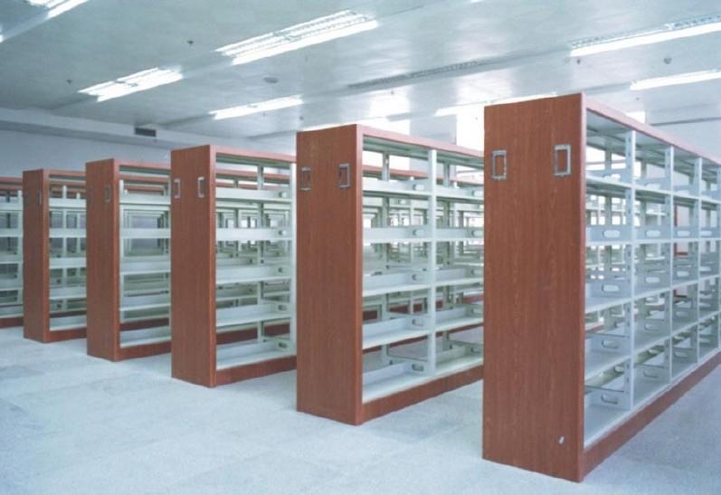 批发图书馆书架 厂家直销书架 批发澳门、厦门、图书馆书架示例图13