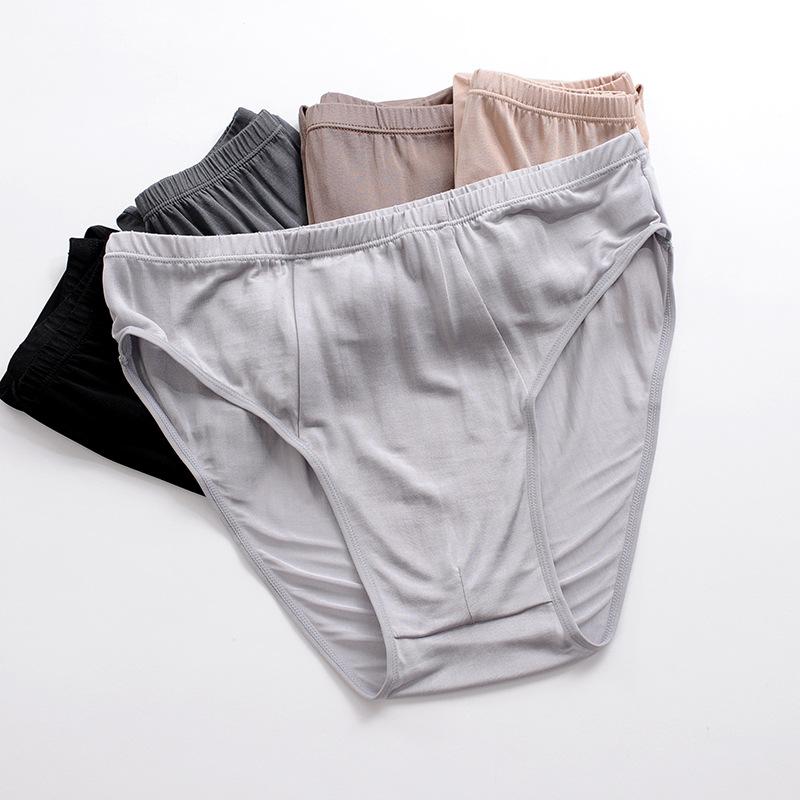 【2014夏季真丝面料中低腰男内裤三角裤性感所有沙滩解锁动作性感4图片