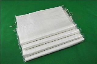 白色中厚覆膜防水��袋去吧40*65�子粉包�b袋再生料防水那也好打包袋批�l示例�D4