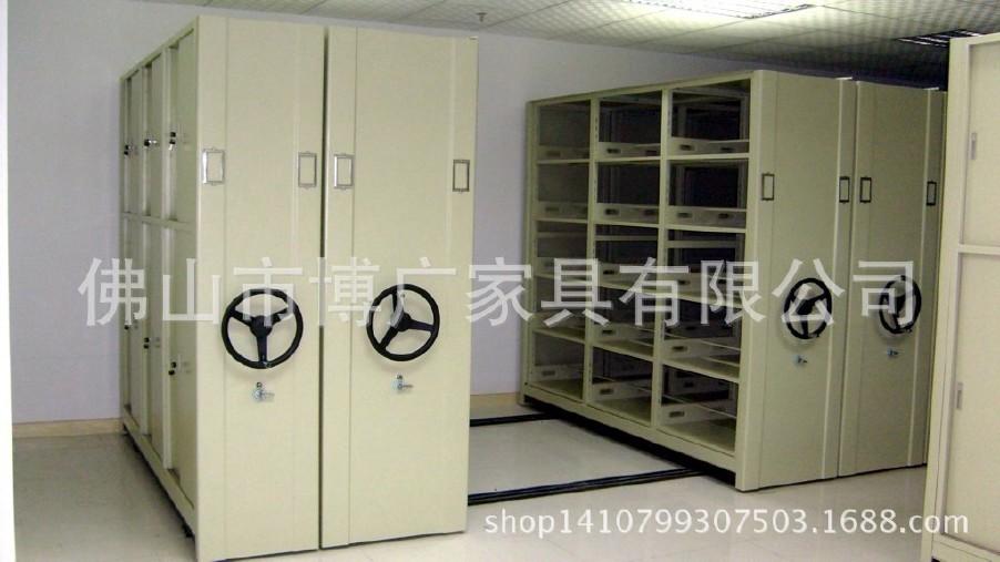 厂家直销 手动密集架 定制档案密集柜  移动密集架  终身维修