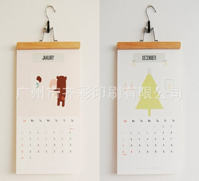 2017年挂历台定制DIY历日历新年黄历定制个性美的电热水壶h317e4a图片