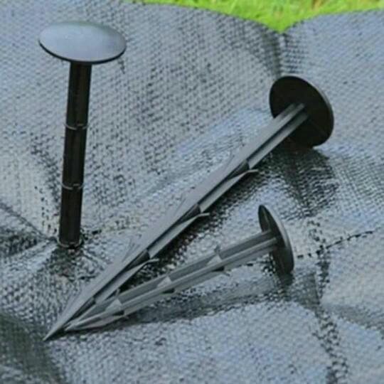 塑料地釘防草布除草布釘園藝用品地布釘果園防草地布除草地布釘