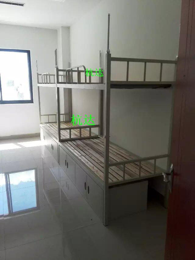 厂家供应学校宿舍双层床定做钢制部队上下公寓床质保5年示例图4