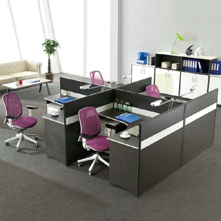 办公家具批发 板式屏风员工电脑桌办公桌 简约简易职员屏风办公桌