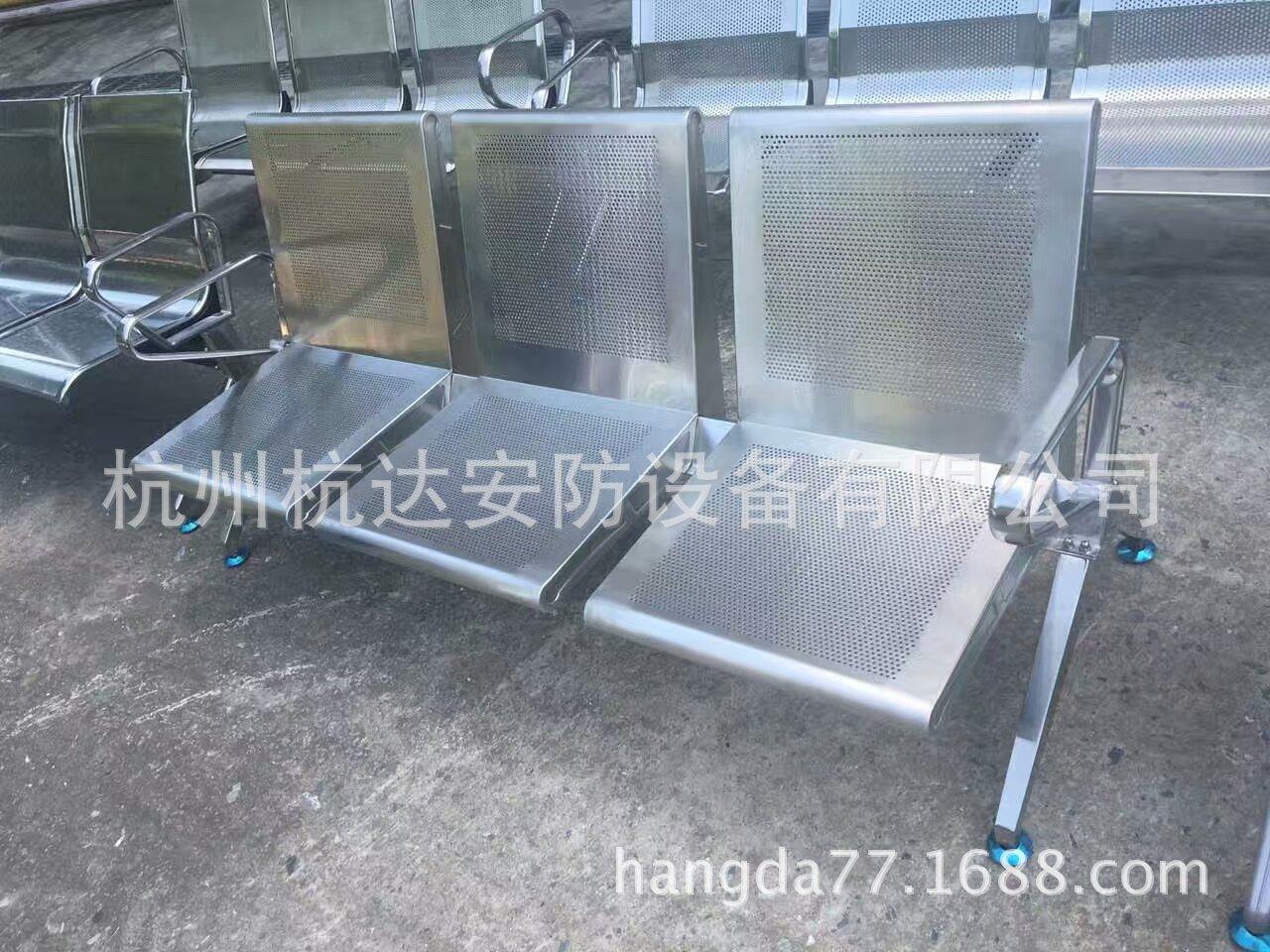 供应杭州优质不锈钢机场连排椅候诊候车区连排椅质保10年示例图3