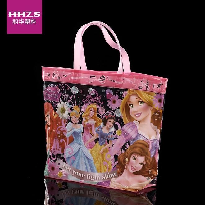 实力厂家直供PVC塑料袋 透明手提袋 礼品包装袋 儿童可爱果冻袋