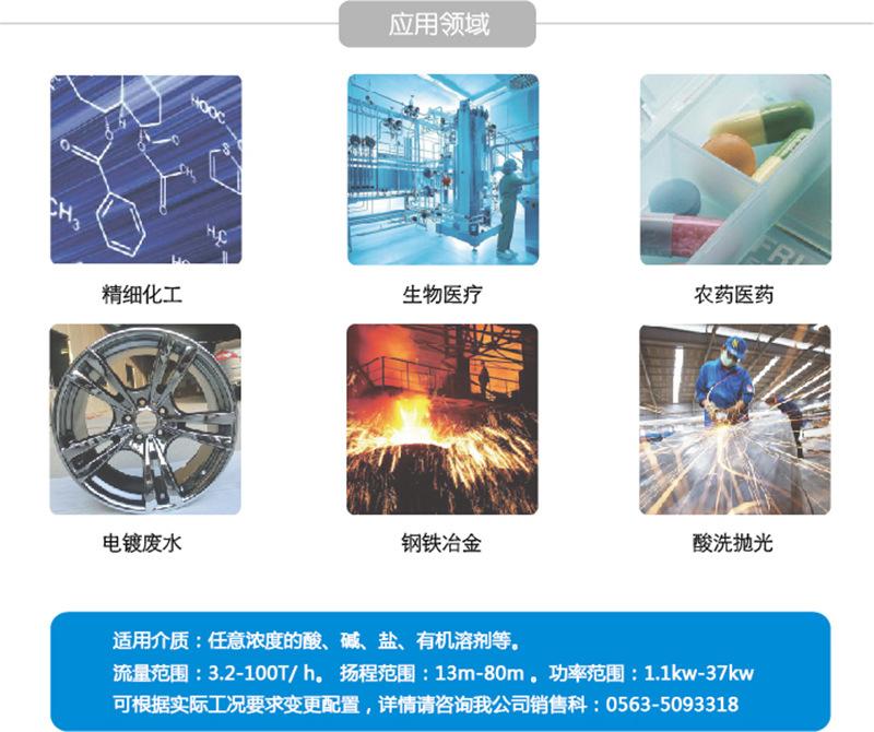 CQB50-32-160P不锈钢磁力泵 全封闭 无泄漏 防爆磁力泵 厂家直销示例图2