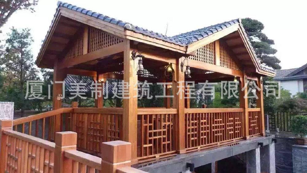 长期经销欧式海边木结构别墅日式园林木屋园肆·别墅1号广州图片