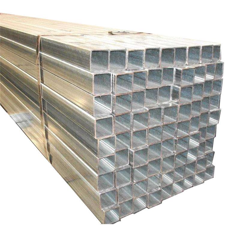 現貨供應鍍鋅方管 鍍鋅方通 空心方40方50方等規格齊全