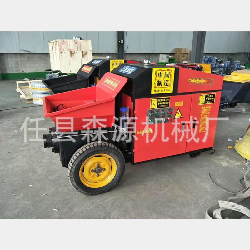 小型混凝土搅拌泵车 车载式混凝土输送泵砂浆输送上料机示例图6