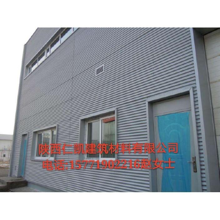 甘肃兰州专业生产4S店铝镁锰波纹板墙面 厂家促销横铺波纹板墙面系统图片