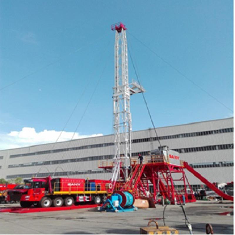 石油钻修机 车载钻机ZJ15/900CZ 三一重工
