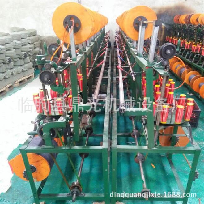 厂家供应鼎光dg型三股礼品盒手提绳合丝机 高速编织机走马机图片