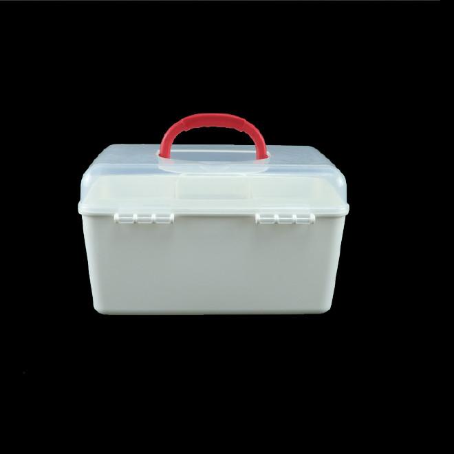 厂家直销塑料药箱 家用药箱 药品收纳箱手提箱药房赠品扶贫保健箱示例图29