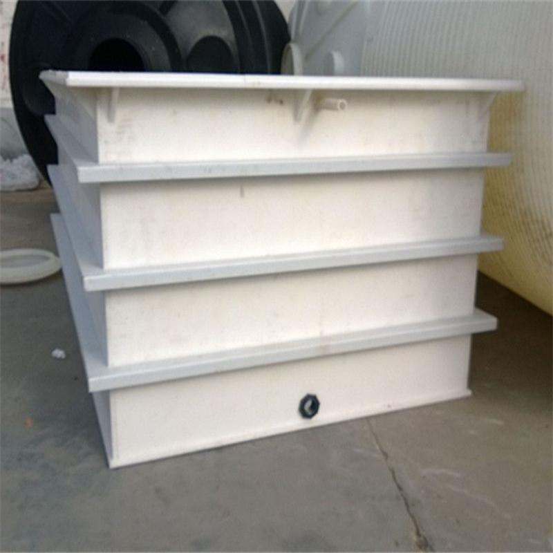 聚丙烯酸洗槽焊接專業定做白色PP板水箱沉淀池電解池污水池電鍍池示例圖13