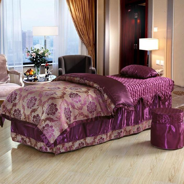 美容床罩四件套 美容院床罩按摩床罩批发熏蒸床罩 厂家直销特价